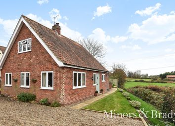 Thumbnail 2 bed detached house for sale in The Street, Barnby, Beccles