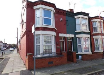 Thumbnail 3 bed end terrace house for sale in Markfield Road, Bootle, Merseyside