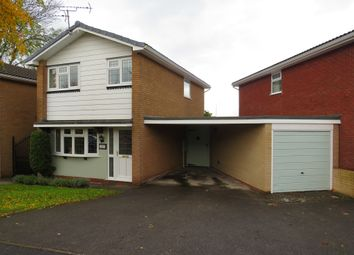 Thumbnail 3 bed detached house for sale in Welland Close, Mickleover, Derby
