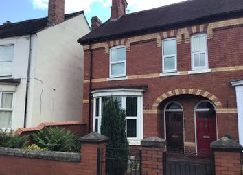 Thumbnail 3 bed semi-detached house to rent in King Street, Wellington, Telford