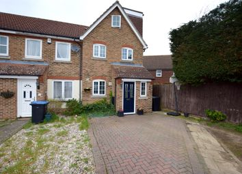 Thumbnail 3 bed end terrace house for sale in Sheldon Close, Church Langley, Harlow