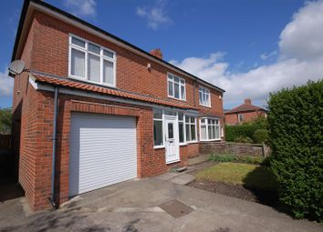 Thumbnail 4 bed semi-detached house for sale in Elmcroft Road, Forest Hall, Newcastle Upon Tyne