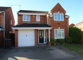 Thumbnail 4 bedroom detached house for sale in Crabtree Copse, Peatmoor, Swindon