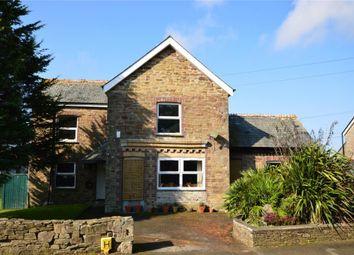 Thumbnail 4 bed detached house for sale in Playing Field Terrace, Duloe, Liskeard, Cornwall