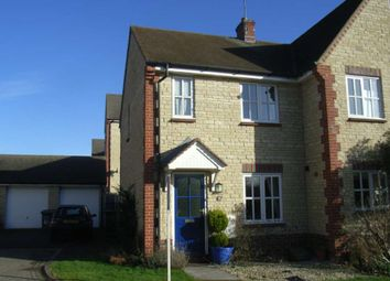 Thumbnail 2 bed semi-detached house to rent in Woodpecker Close, Bicester