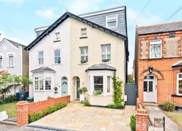 Thumbnail 4 bed semi-detached house for sale in Worthington Road, Tolworth, Surbiton