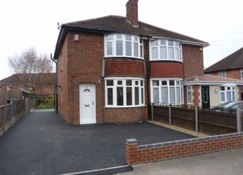 Thumbnail 3 bed semi-detached house to rent in King George Avenue, Loughborough, Leicestershire