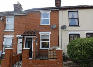 Thumbnail 2 bed terraced house to rent in Surbiton Road, Ipswich, Suffolk
