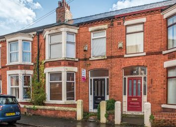 Thumbnail 3 bed terraced house for sale in Streatham Avenue, Mossley Hill, Liverpool