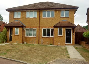 Thumbnail 3 bed semi-detached house to rent in Hubbard Close, Twyford, Reading