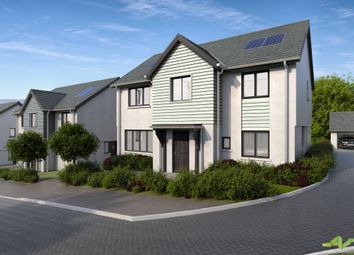 Thumbnail 4 bed detached house for sale in Vinery Lane, Sherford, Plymouth