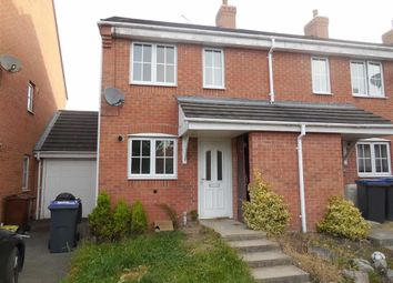Thumbnail 2 bed town house to rent in Russett Close, Barwell, Leicester