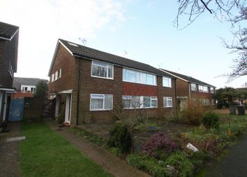 Thumbnail 3 bed flat to rent in Roakes Avenue, Addlestone