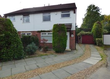 Thumbnail 3 bed semi-detached house for sale in St. Bridgets Close, Fearnhead, Warrington, Cheshire