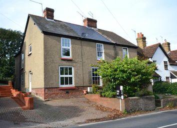 Thumbnail 2 bedroom semi-detached house to rent in Rye Street, Bishop's Stortford