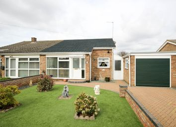 Thumbnail 2 bedroom semi-detached bungalow for sale in Halt Road, Caister-On-Sea, Great Yarmouth