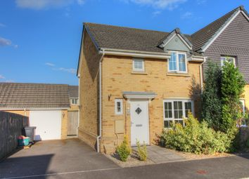 Thumbnail 3 bed semi-detached house for sale in Schooner Circle, St. Brides Wentlooge, Newport