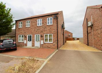 Thumbnail 3 bed semi-detached house for sale in Horseshoe Place, Burnt House Road, Turves, Whittlesey, Peterborough