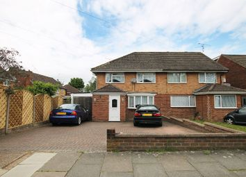 Thumbnail 3 bed semi-detached house for sale in Parkway, Crawley, West Sussex.
