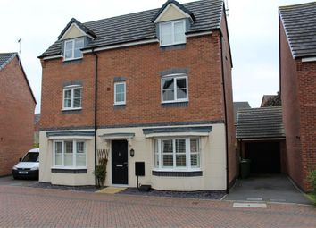Thumbnail 4 bed detached house for sale in Clarke Crescent, Countesthorpe, Leicester