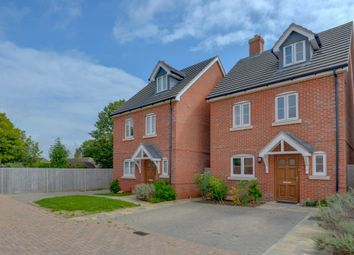 Thumbnail 4 bed town house for sale in Langmeads Close, Station Road, East Preston
