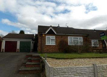 Thumbnail 2 bed bungalow for sale in St. Faiths Drive, Coalville