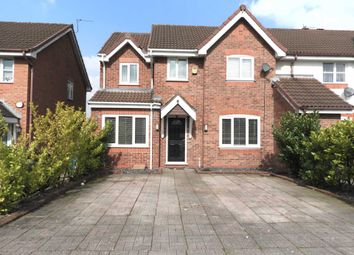 Thumbnail 4 bed end terrace house for sale in Longdown Road, Liverpool