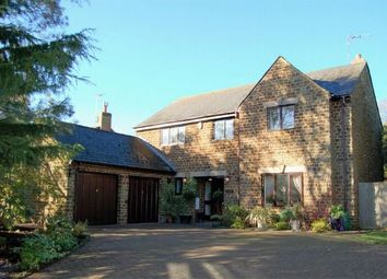 Thumbnail 4 bed detached house for sale in Crabtree Lane, Cold Ashby, Northamptonshire