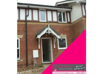 Thumbnail 2 bedroom terraced house for sale in Wells Close, Whiteley, Fareham