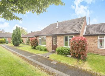 Thumbnail 2 bed bungalow for sale in De Montfort Close, Loughborough