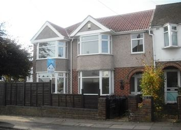 Thumbnail 3 bed property to rent in Woodstock Road, Cheylesmore, Coventry