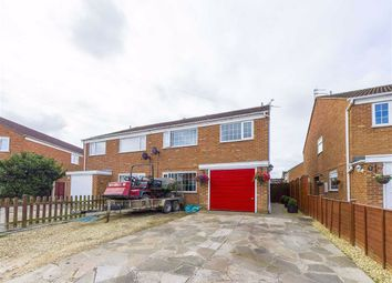 Thumbnail 4 bed semi-detached house for sale in Courtfield Road, Quedgeley, Gloucester