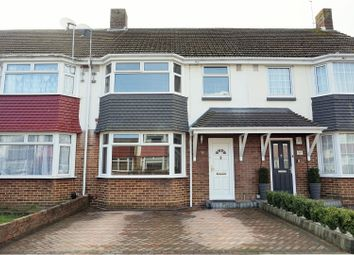 Thumbnail 3 bed terraced house for sale in Kinross Crescent, Portsmouth