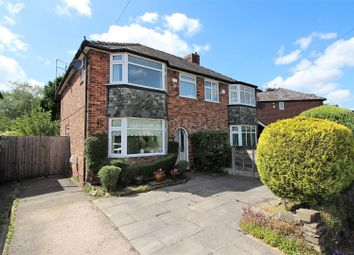 Thumbnail 3 bed semi-detached house for sale in Buckingham Road, Wilmslow