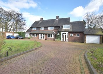 Thumbnail 6 bed detached house for sale in Longwood Road, Walsall, West Midlands