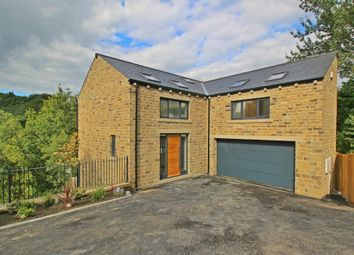 Thumbnail 5 bed detached house for sale in Fulstone Hall Lane, New Mill, Holmfirth