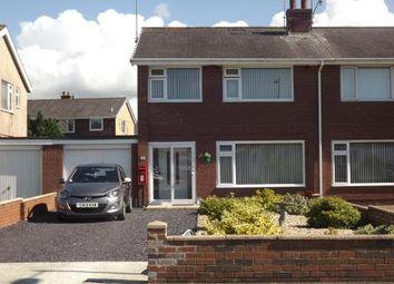Thumbnail 3 bed semi-detached house for sale in Ffordd Eryri, Hendre Park, Caernarfon, Gwynedd