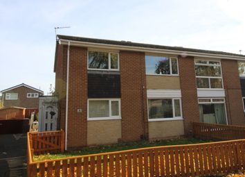 Thumbnail 2 bed flat for sale in Halton Court, Billingham
