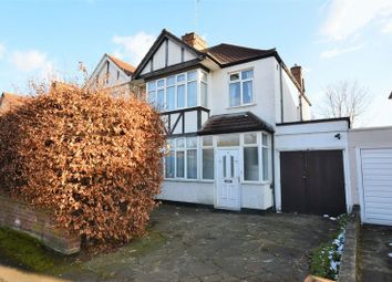 Thumbnail 3 bed semi-detached house for sale in Headstone Gardens, North Harrow, Harrow