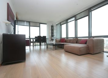 Thumbnail 2 bed flat to rent in One West India Quay, Hertsmere Road, London