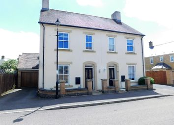 Thumbnail 3 bed semi-detached house for sale in Earnshaw Drive, Fairfield, Hitchin, Herts