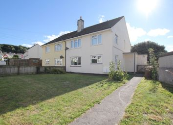 Thumbnail 2 bed flat to rent in Shortwood Crescent, Plymstock, Plymouth, Devon