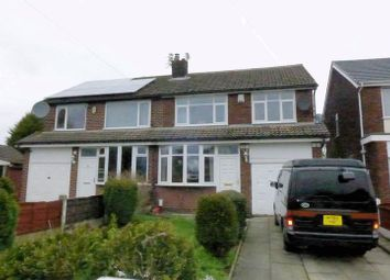 Thumbnail 3 bed semi-detached house for sale in Brookhouse Avenue, Farnworth, Bolton