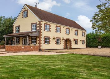 Thumbnail 6 bed detached house for sale in Cross Drove, Whittlesey, Peterborough