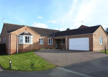 Thumbnail 3 bed detached bungalow for sale in The Orchards, Grantham
