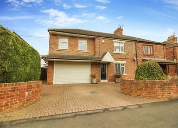 Thumbnail 4 bed semi-detached house for sale in Hartford Crescent, Bedlington, Northumberland