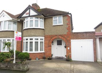 Thumbnail 3 bed semi-detached house for sale in Milton Road, Earley, Reading