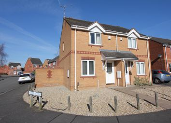 Thumbnail 2 bed semi-detached house for sale in Royce Close, Thorpe Astley, Braunstone, Leicester