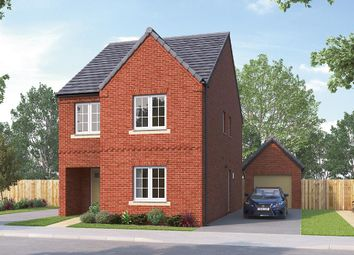 "Thumbnail 4 bedroom detached house for sale in ""The Glastonbury"" at Greenhill Road, Coalville"