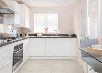 "Thumbnail 3 bed semi-detached house for sale in ""Barwick"" at Gilhespy Way, Westbury"